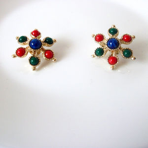 SARAH COVENTRY Colorful Ornate Earrings